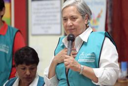Sr. Norma Pimentel addresses the guests.