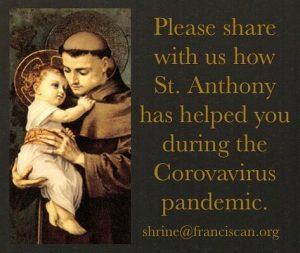 St. Anthony with Jesus