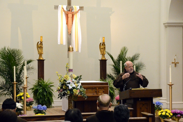 "Fr. Larry celebrates Pope Francis' Jubilee Year of Mercy in his talk, ""The Mystery of Mercy"""