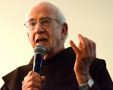Fr. Paul, 92, does Mission appeals each year for Food for the Poor.