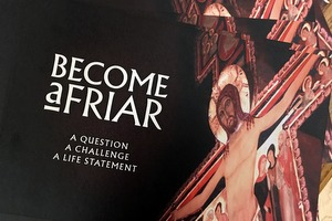Become a Friar brochure and cross