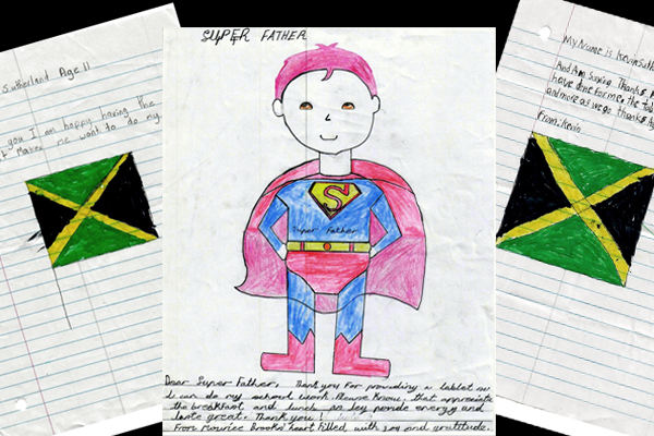 childrens' drawings
