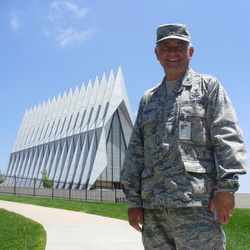 Fr. Bob and Air Force Academy chapel
