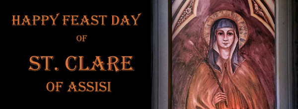 Happy Feast of St. Clare