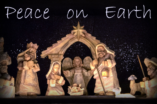 One of the many nativities from around the world at 'A Franciscan Christmas' at the Christian Moerlein Event Center
