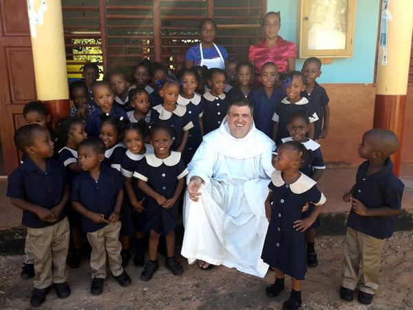 friar in school