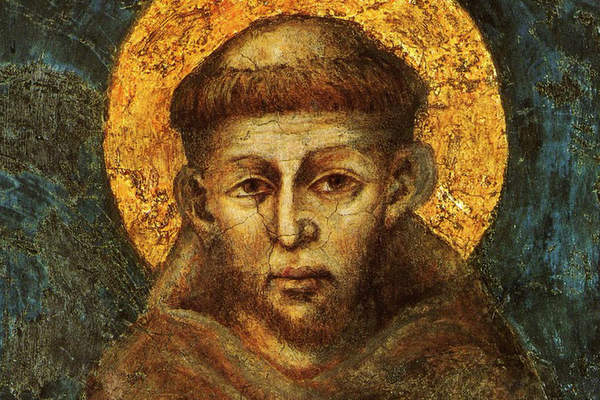 st francis icon