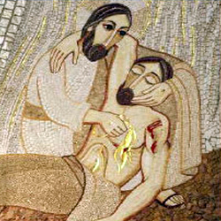 good samaritan mosaic