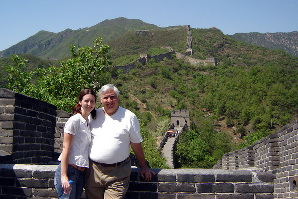 Great Wall Jen & Dad
