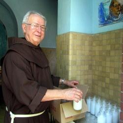Fr. Carl Langenderfer, OFM, Guardian of the Shrine