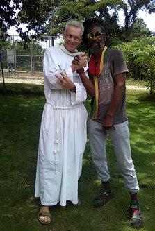 friar and man
