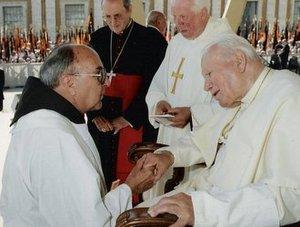 Fr. Bruno and Pope JPII
