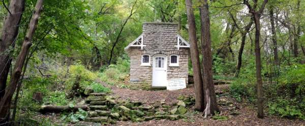 St. Anthony Chapel in the woods
