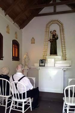 Inside the St. Anthony Chapel
