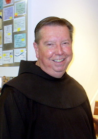 Br. Mark at the St. Francis Retreat House