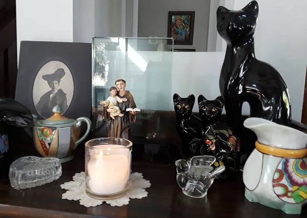 Personal Shrine to St. Anthony