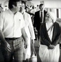 Br. Scott with Mother Teresa