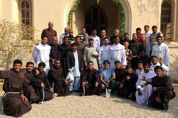 The Custos of St. John the Baptist in Karachi, Pakistan