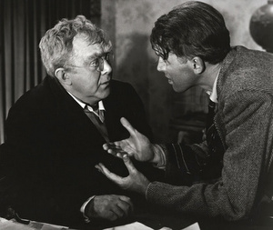 George is trying to help Uncle Billy remember where he lost the $8,000.00 from 'It's a Wonderful Life'