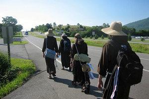Walking Friars