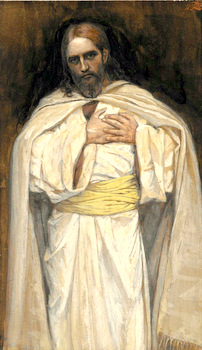Our Lord Jesus Christ by James Tissot (1836-1902) Public domain