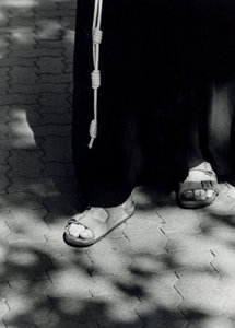 The Franciscan habit, 3 knotted cord, and sandals