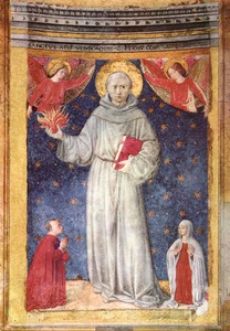'St Anthony of Padua' by Benozzo Gozzoli (1421-1497) Public domain